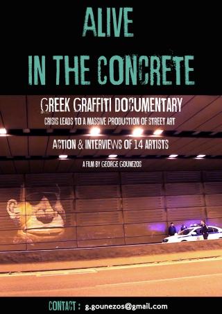 alive in the concrete poster copy